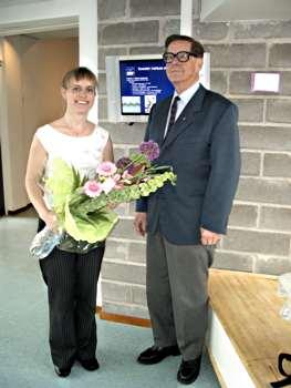 Lisa Johansson och Bengt Hultqvist