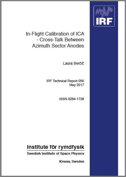IRF Technical Report cover