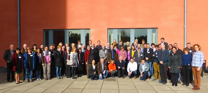 SRS 2014 group photo, Uppsala (Photo: Rick McGregor, IRF)