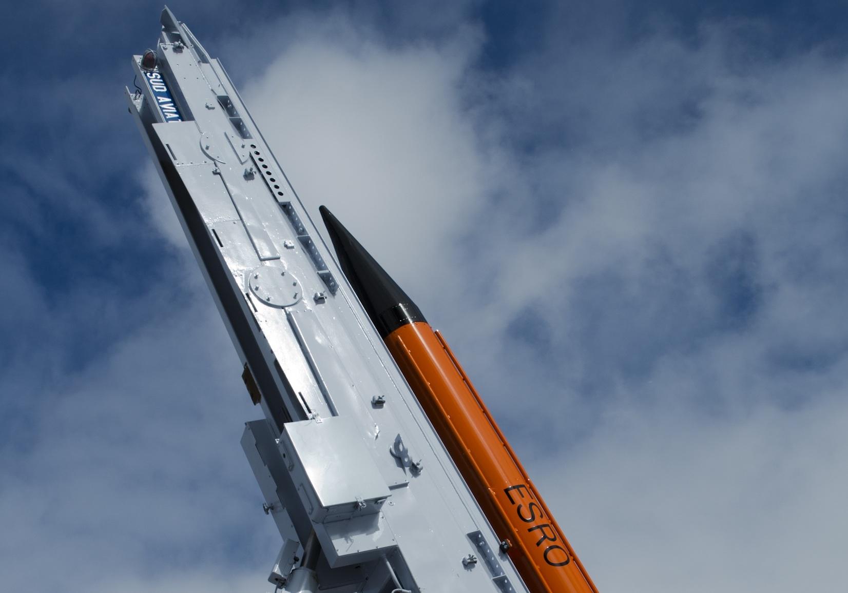 Centaure IIB-raket (Bild: Rick McGregor, IRF)