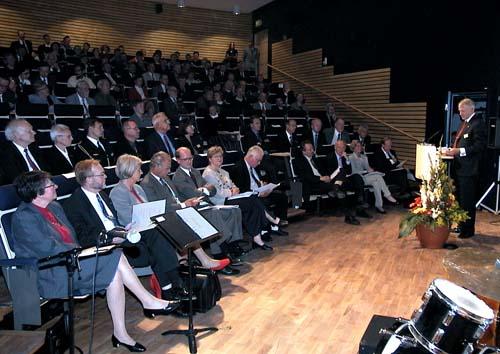 Auditorium at the Kiruna Space Campus