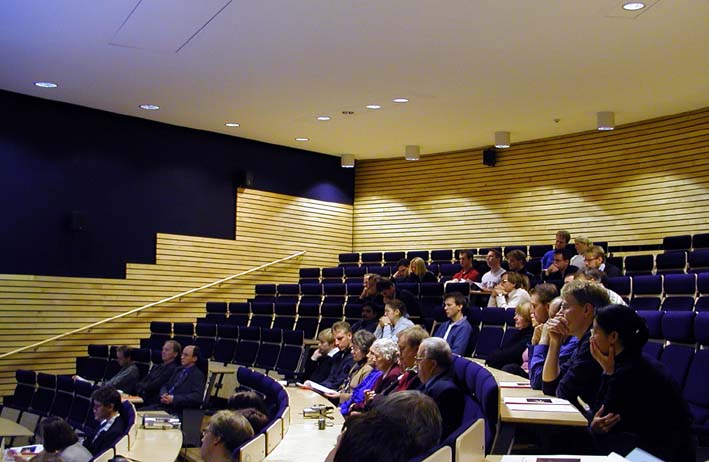 Auditorium at the Kiruna Space Campus