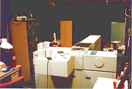 FTIR instrument at IRF