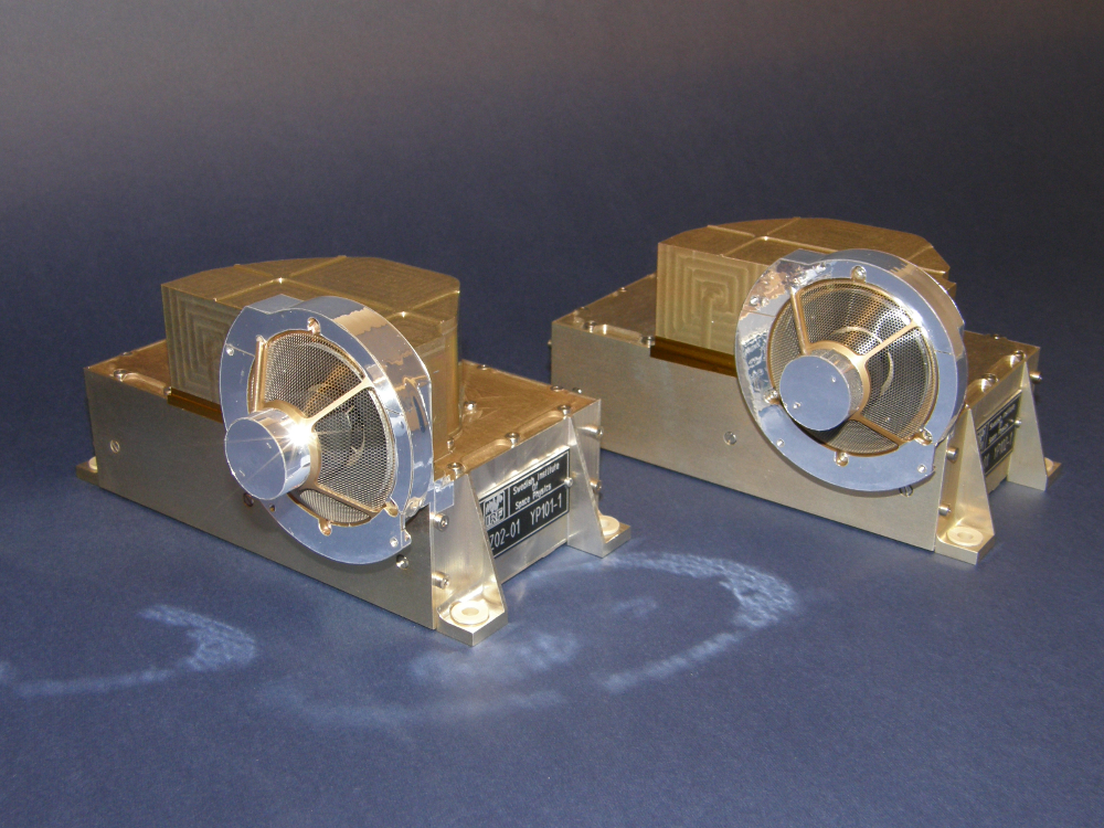 The two YPP ion mass analysers (YPP-i1 and YPP-i2). Photo: IRF