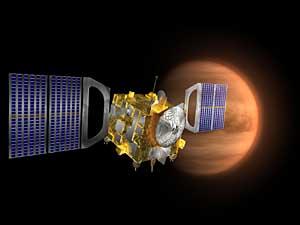 Venus Express och planeten