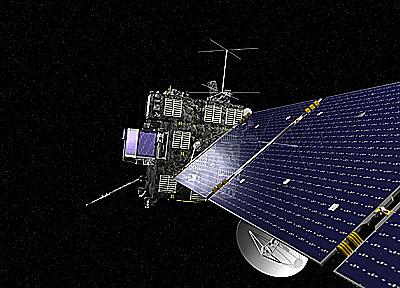Rosetta spacecraft (Bild: ESA)